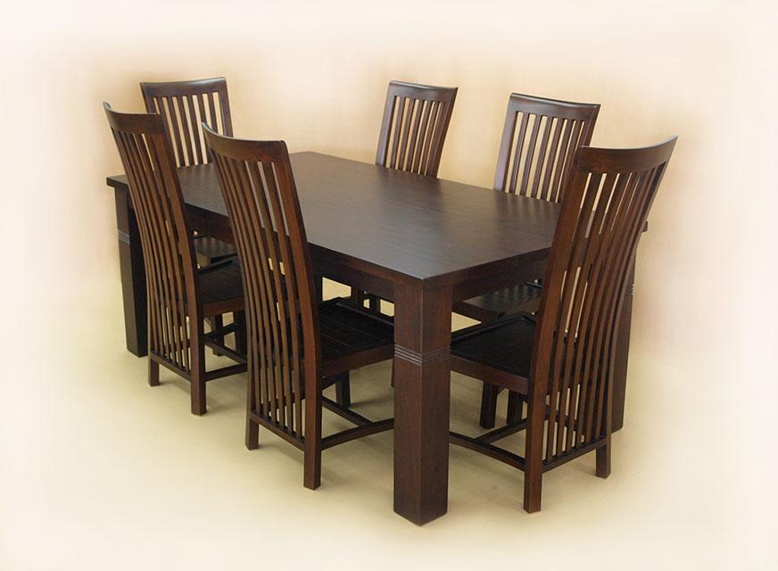 家庭のアイデア 6人 テーブル : ... の6人掛けスクエアテーブル